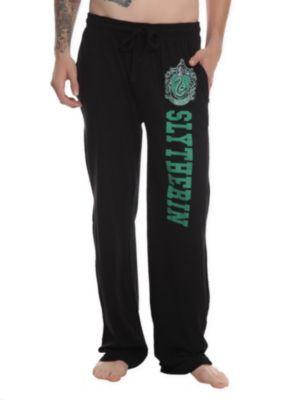 Harry Potter Slytherin Men's Pajama Pants. I need these!! Desiray!  They also have your house too!!