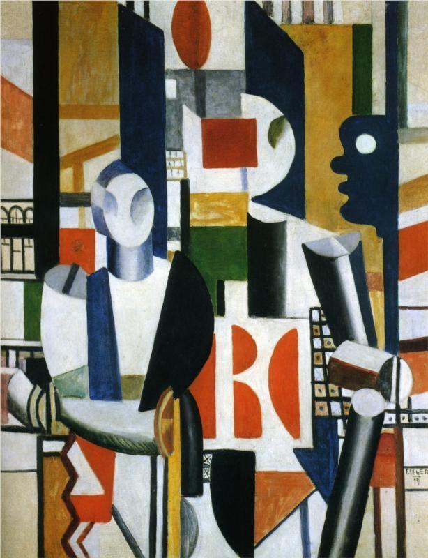 Men in the city - Fernand Leger, 1919