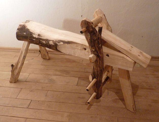 Modellierwerkzeug - Schnitzpferd/Shaving Horse 2 - ein Designerstück von Nike_11 bei DaWanda