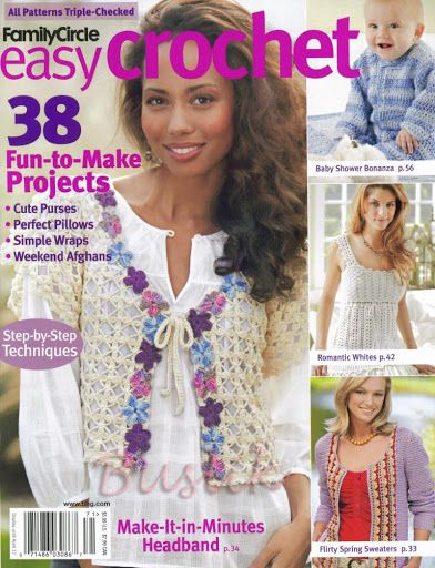 ... magazines - croche, crochet, etc. en Pinterest Crochet de verano