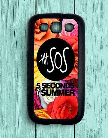 5 Second Of Summer Flower Roses Samsung Galaxy S3 | Samsung S3 Case