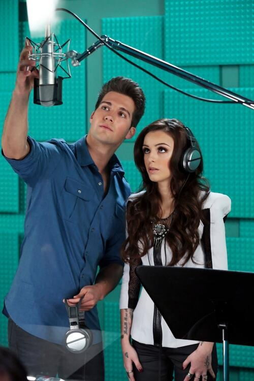 Cher with James Maslow #BigTimeScandal