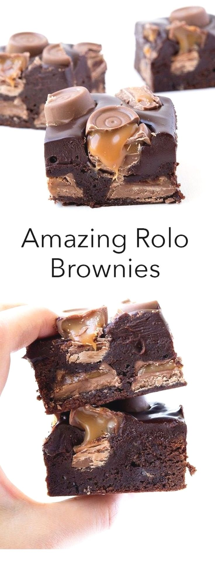 Amazing Rolo Brownies   Baking Recipes