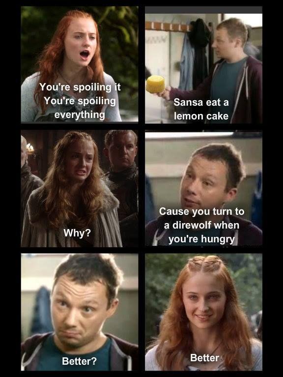 Sansa Lemon Cakes Meme