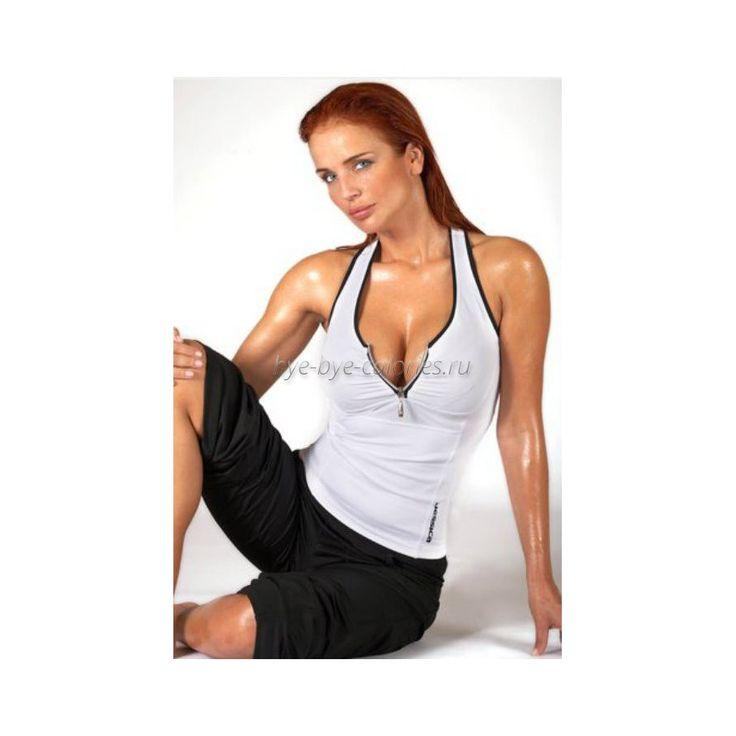 Женский спортивный топ на молнии Grace купить в интернет-магазине Бай бай калории