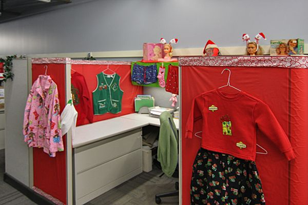 Holiday Cubicle Decorating Contest Where Holiday