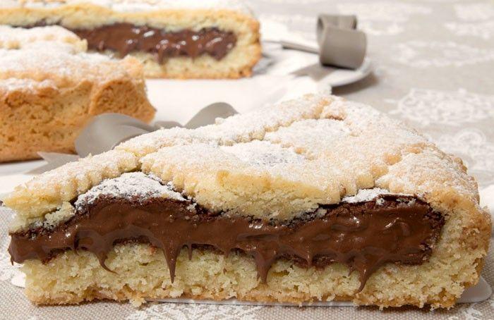 Mäkučký nutelový koláč | Božské recepty