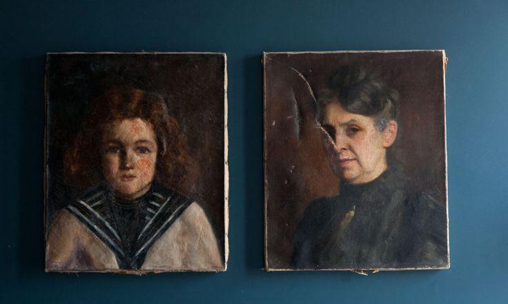 Portraits peints chambre le coq hotel