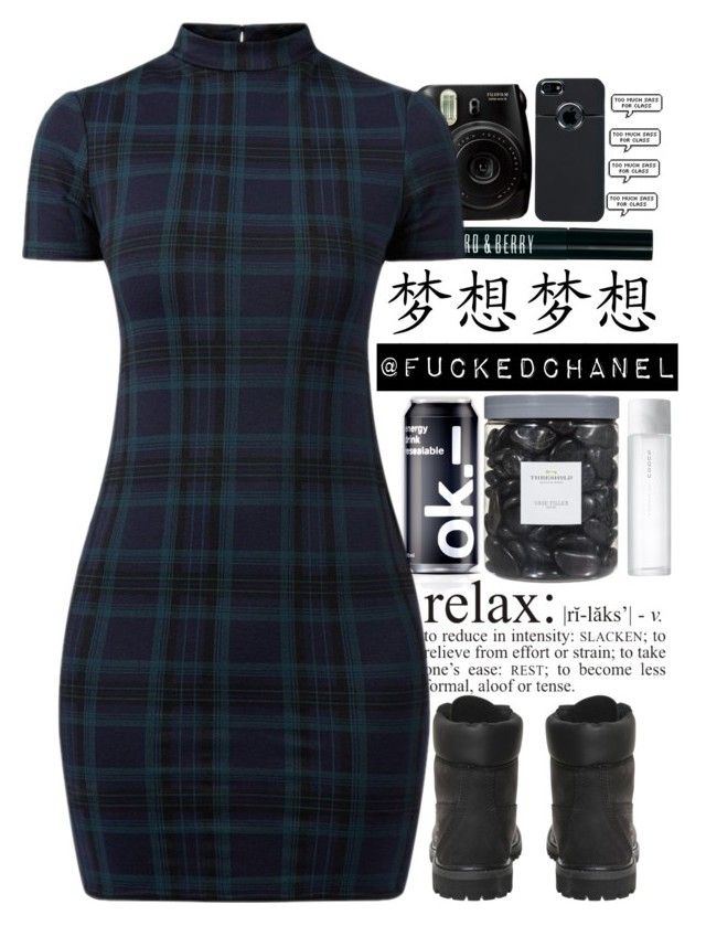 ✖ Je suis une gentille fille ✖ by fuckedchanel on Polyvore featuring Timberland, Boohoo, Lord & Berry, SUQQU and Threshold
