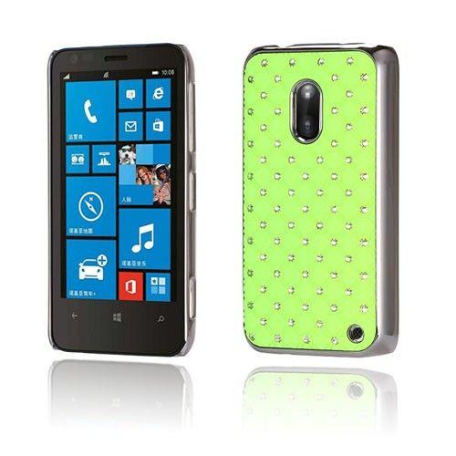 Stars (Vihreä) Nokia Lumia 620 Suojakuori - http://lux-case.fi/stars-vihrea-nokia-lumia-620-suojakuori.html