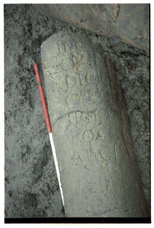 Romeinse mijlpaal (249-251 na Chr.) - Geschiedenis van Zuid-Holland