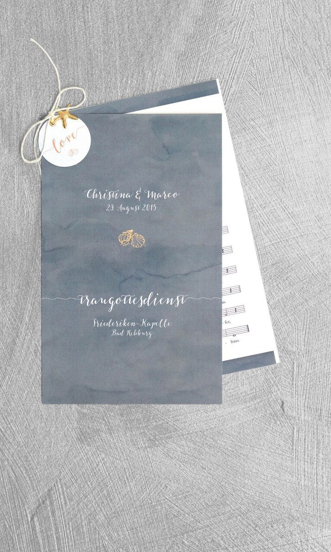 Kirchenheft Grau Kirchenheft Hochzeit Kirchenheft Hochzeit Vorlage Karte Hochzeit