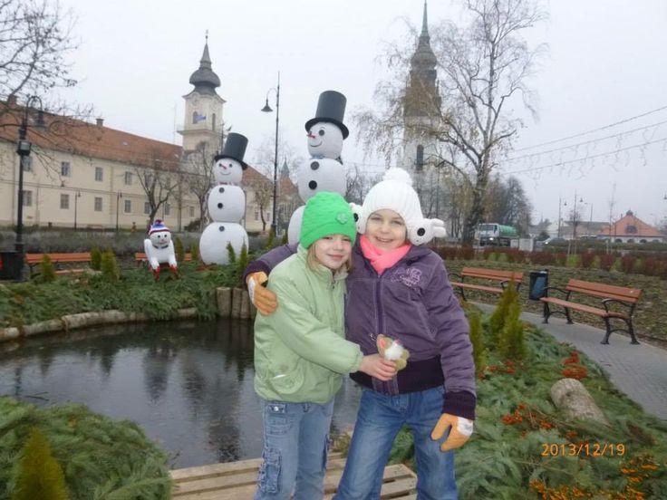 My daughter, Beatrix and her best friend, Katie