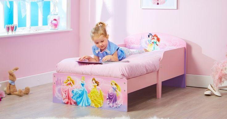 CAMA PRINCESAS DISNEY DE MADERA. INCLUYE COLCHÓN. 454DSN+, IndalChess.com Tienda de juguetes online y juegos de jardin