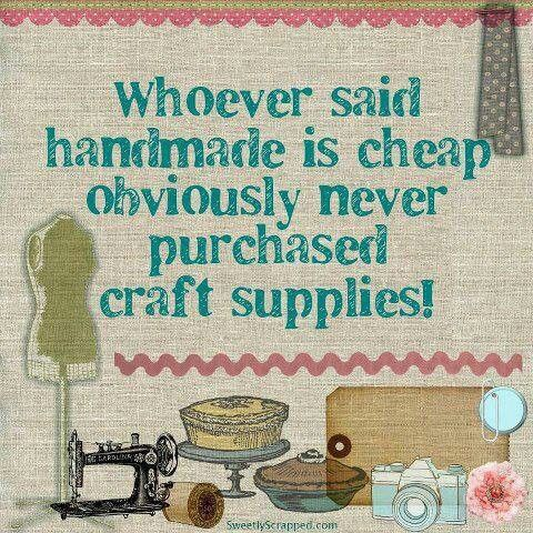 handmade does not equal cheap!