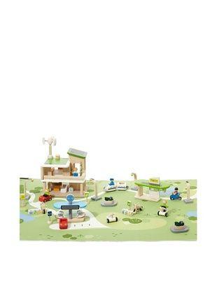 51% OFF PlanToys PlanCity Eco Town Building Set