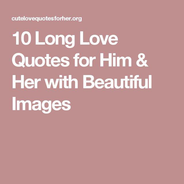 Long Love Quotes For Her Enchanting Mer Enn 25 Bra Ideer Om Paragraphs For Him På Pinterest
