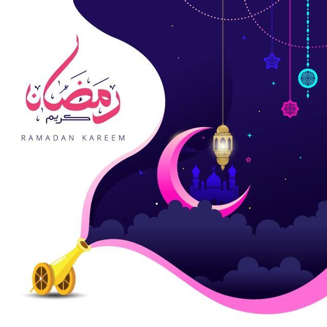 Ramadan Kareem Islam Lantern Background Pattern Mubarak Eid Greeting Vector Mosque Night Moon Design Arabian Art Card Poster Muslim Ce Kartu Ilustrasi Seni