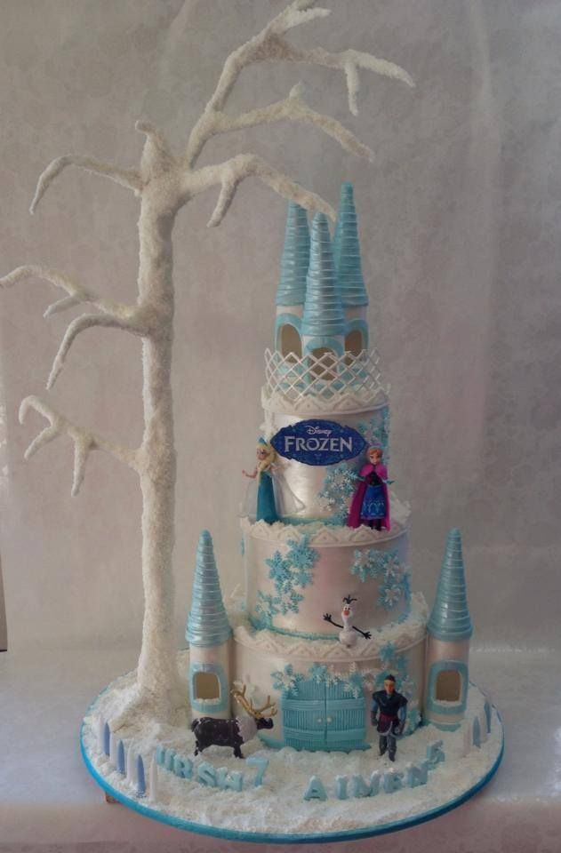 Frozen Castle Cake Cake Ideas Pinterest Disney