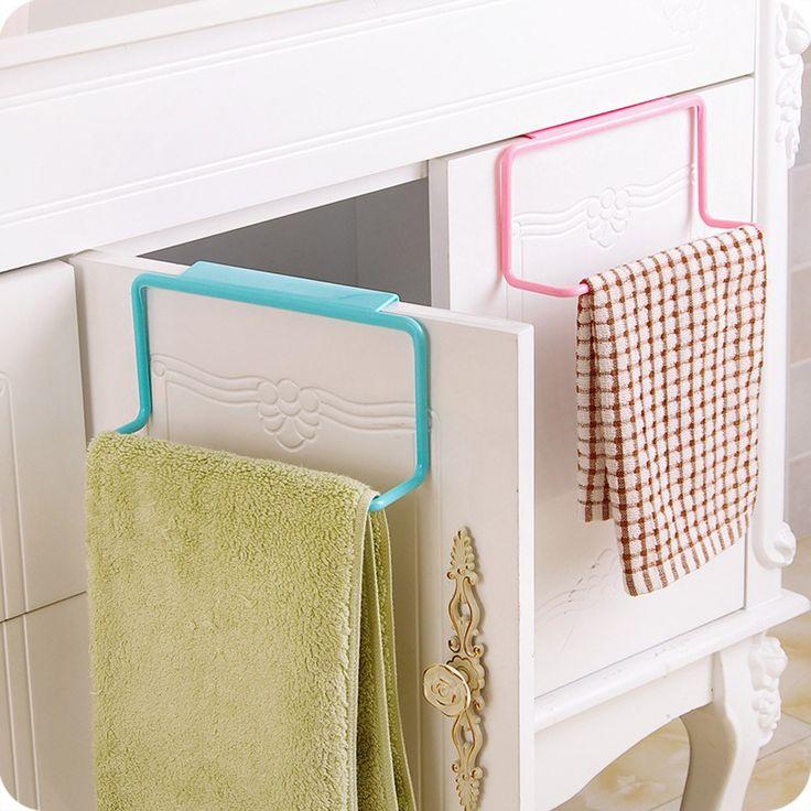1.01$ (Buy here: http://alipromo.com/redirect/product/olggsvsyvirrjo72hvdqvl2ak2td7iz7/32753458889/en ) Holders Towel Rack Hanging Holder Organizer Bathroom Kitchen Cabinet Cupboard Hanger u61018 for just 1.01$