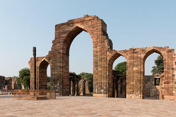 Rust-Resistant Iron Pillar of Delhi