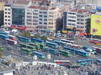 Bus station at Kadiköy