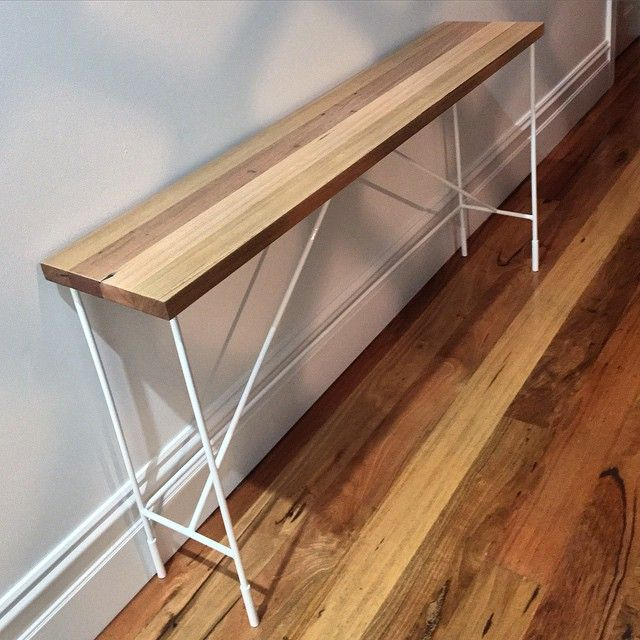 Just finished this gorgeous side table for Racheal & Marty. The brief was a fine classic design that would merge with modern. I am very happy with the result. #design #designer #custommade #bespoke #interiordesign #interiordecor #australianmade #australiandesign #melbourne #melbournedesign #melbournestyle #sidetable #consol #table