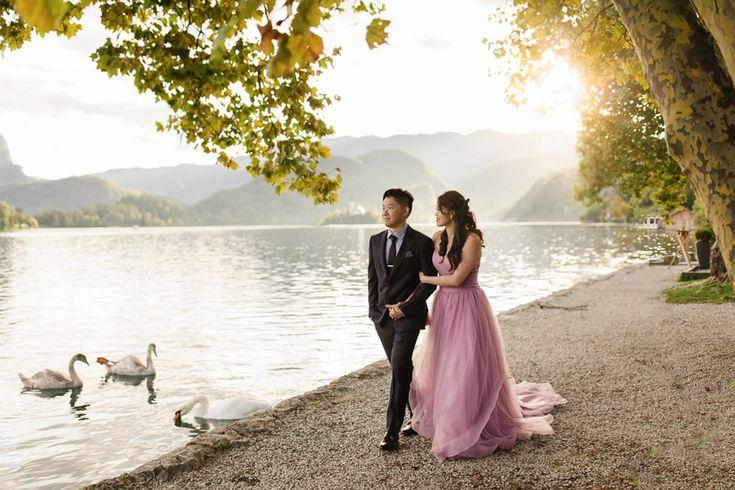 Bled lake wedding