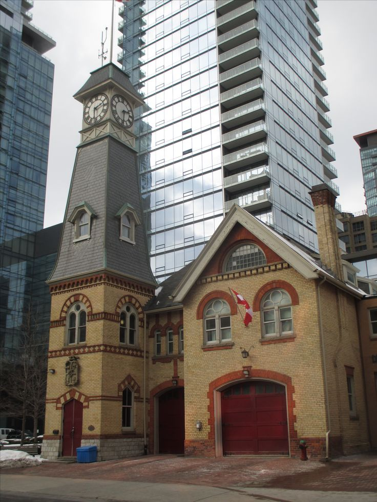 Fire hall, Yorkville Ave, Toronto