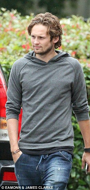 On the brink: Daley Blind at the Bridgewater Hospital in Manchester on Saturday to undergo...