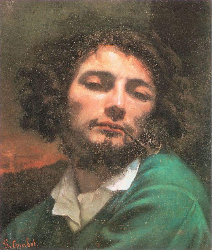 Autorretrato con pipa-Gustave Courbet.jpg 762×900 pixeles