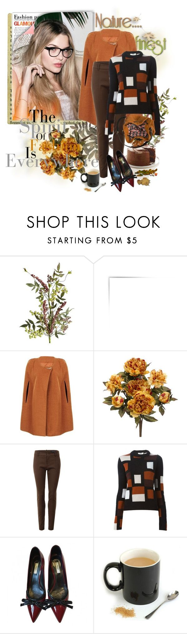 """первая неделя осени"" by trendstar-212 ❤ liked on Polyvore featuring Pier 1 Imports, Gucci, Fendi, Prada and Mono"