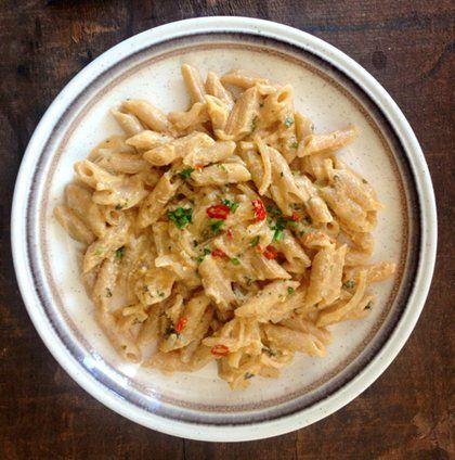 Chilli salmon pasta recipe
