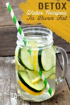 Detox Water Recipes To Burn Fat