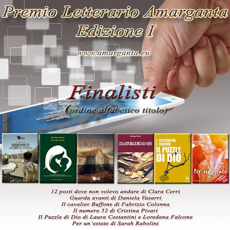 Il nostro Puzzle di Dio è tra i sei finalisti della prima edizione del Premio Letterario Amarganta