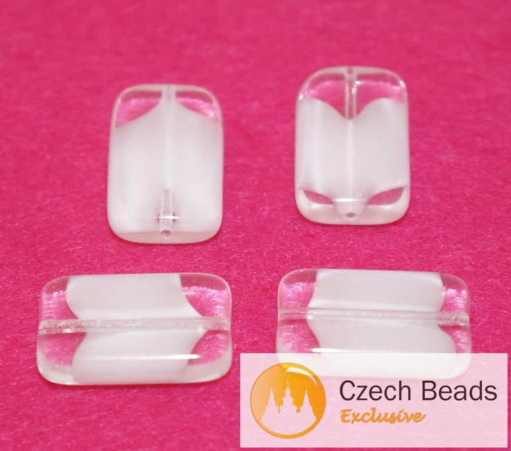 ✔ What's Hot Today: Rectangle Brick Large White Clear Flat Beads Czech Glass Beads Bohemian Beads Original Exclusive Authentic 18mm x 6mm 4pc https://czechbeadsexclusive.com/product/rectangle-brick-large-white-clear-flat-beads-czech-glass-beads-bohemian-beads-original-exclusive-authentic-18mm-x-6mm-4pc/?utm_source=PN&utm_medium=czechbeads&utm_campaign=SNAP #CzechBeadsExclusive #czechbeads #glassbeads #bead #beaded #beading #beadedjewelry #handmade