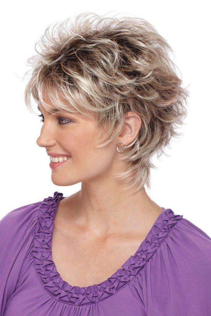 medium shag hairstyles