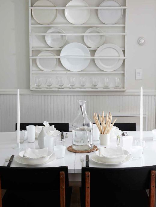 Winter White Tablesetting From LifeStyle By Tricia Foley