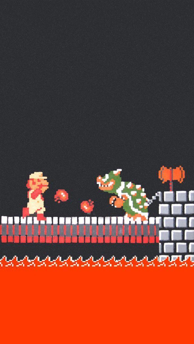 Nintendo Wallpaper Iphone Iphone Wallpaper Mario Art Wallpaper