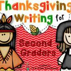 Thanksgiving Writing for Second Graders is a packet of second grade writing activities with a Thanksgiving theme.   The writing activities can be u...