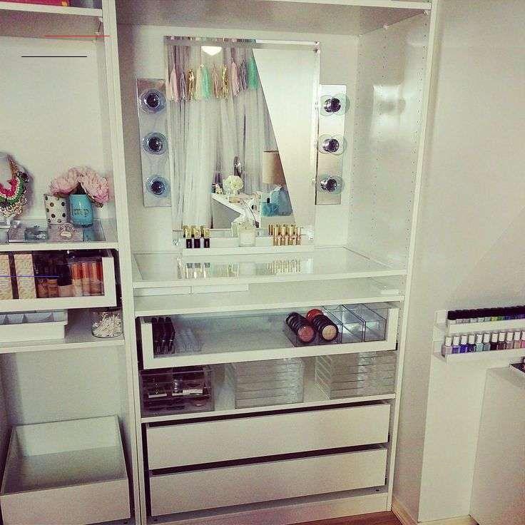 Ikea Makeup Organizer Homedesign Homecreativa Homedecor Decoration In 2020 Home Design Ikea Home Decor