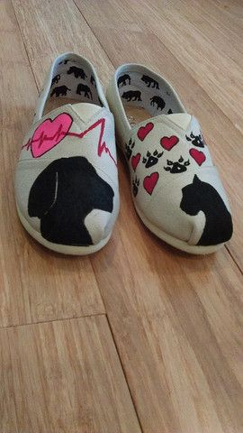 All Printed Veterinary Slip-on (Limited Quantity) – Nurse Garage