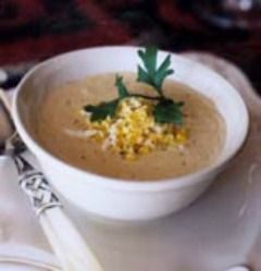 Charleston, south carolina is known for their elegant She Crab Soup. A cross between a bisque and a chowder, made with their famous blue crab meat.