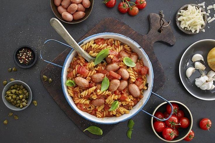 Alt-i-én-gryte-pasta