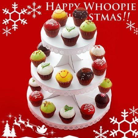 クリスマス限定ウーピーパイ&カップケーキがチャプチーノから