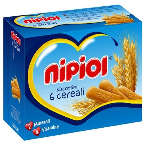 Biscuiti cu 6 cereale Nipiol