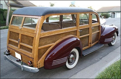 1941 Packard 110 Woody wagon Maintenance of old vehicles: the material for new cogs/casters/gears/pads could be cast polyamide which I (Cast polyamide) can produce