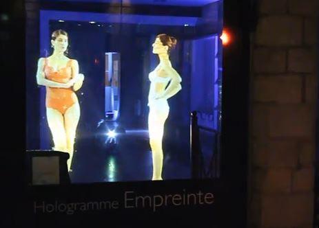 Hologramme Empreinte Lingerie