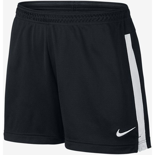Nike Academy Knit Women's Soccer Shorts ($25) ❤ liked on Polyvore featuring shorts, knit shorts, nike and nike shorts
