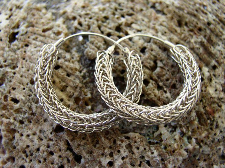 Viking Knit Earrings